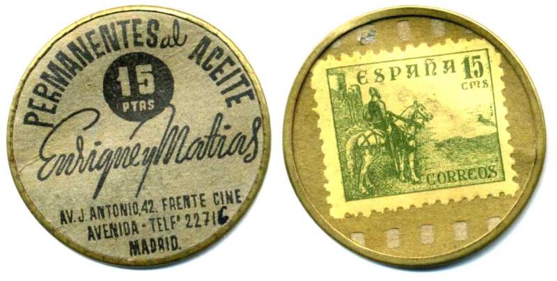 Discos de aluminio con sellos 00309910