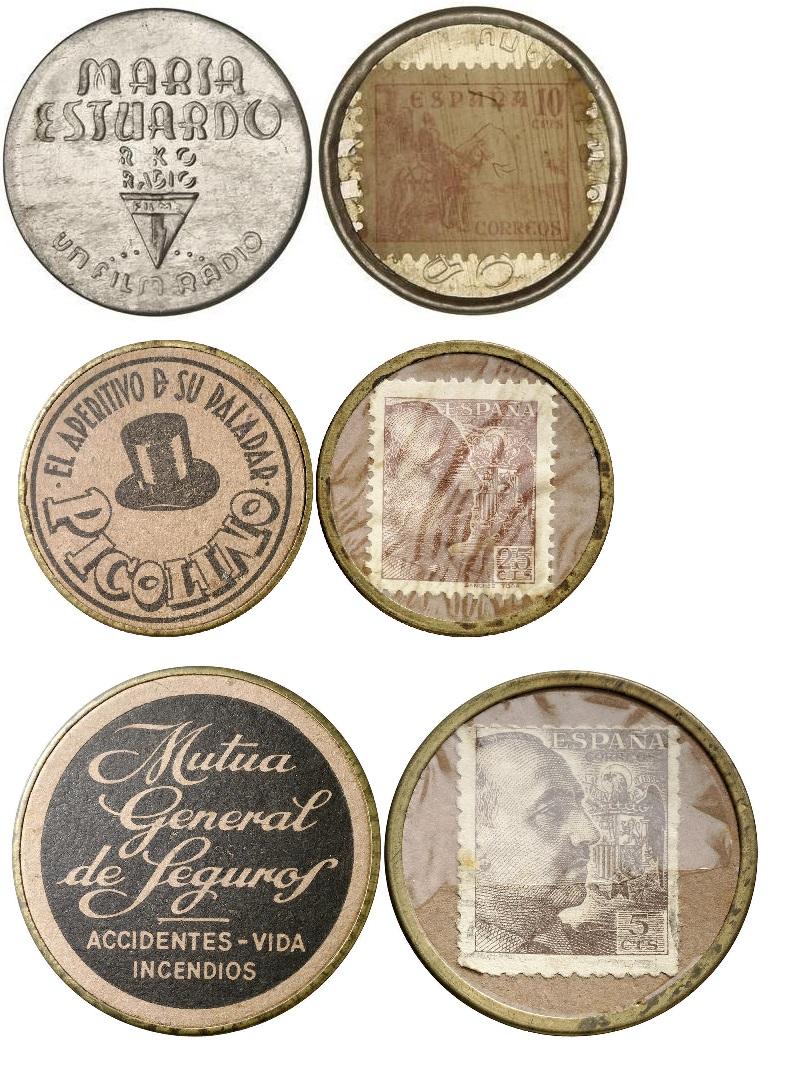 Discos de aluminio con sellos 18874511