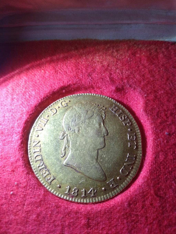 8 escudos 1814. Fernando VII. Lima. Ayuda Img_2014