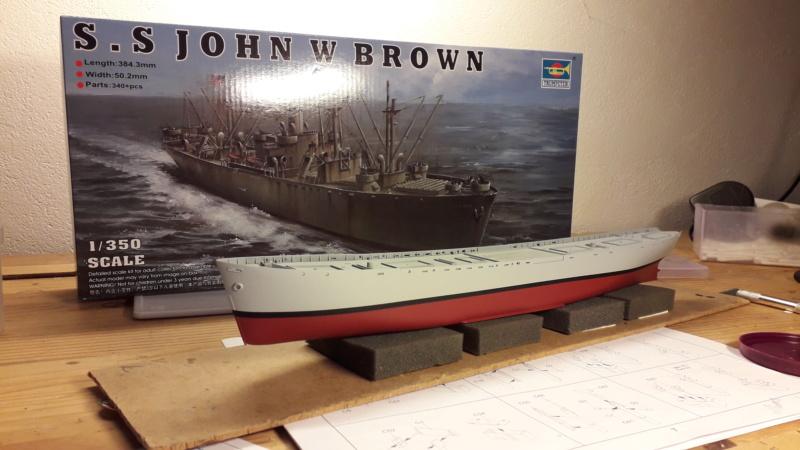 """Liberty ship   """" JOHN W BROWN""""  20200420"""
