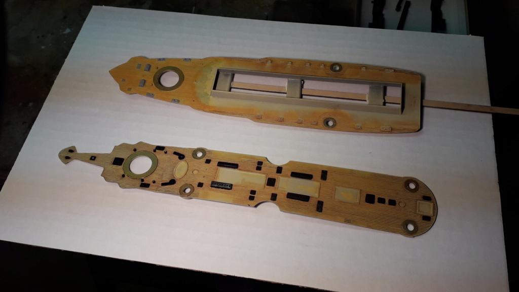 Cuirassé Borodino 1/350 construction ZVEZDA  Borodi24