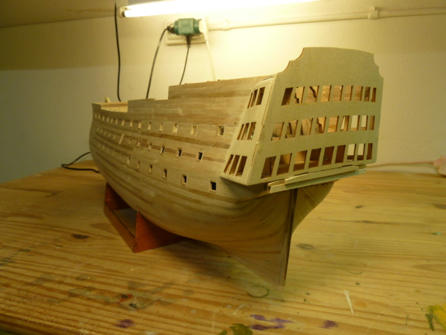 HMS Victory (Altaya 1/84°) de lardy P1140510