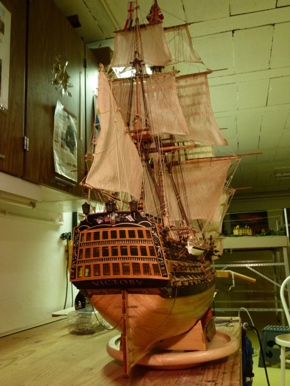 HMS Victory (Altaya 1/84°) de lardy P1160213