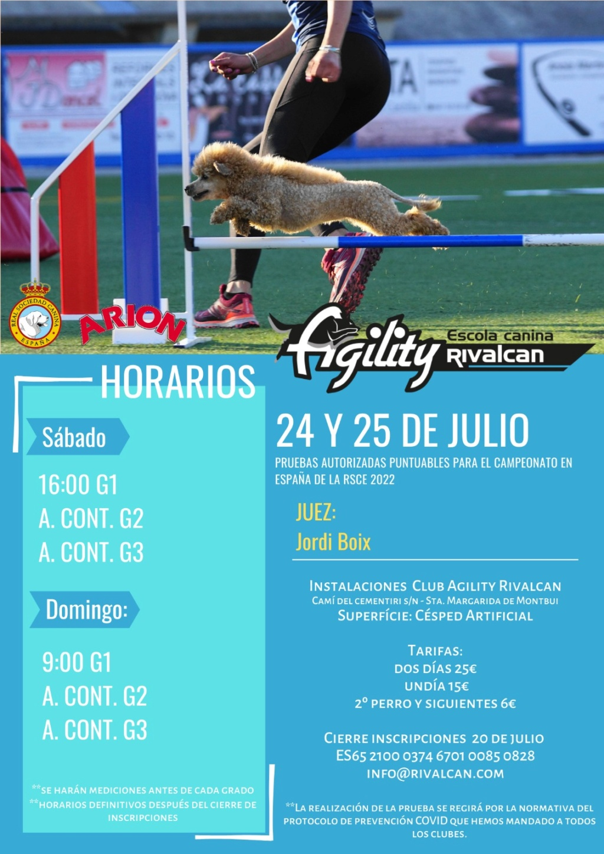 Canina Rivalcan 24-25 julio Preagility R112