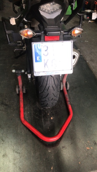 Primeros temas con mi Honda.  Image110