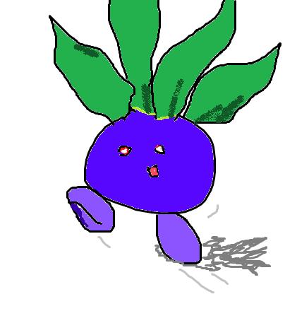 [Joguinho] Obras de Artes do PokeMyRPG Oddish10
