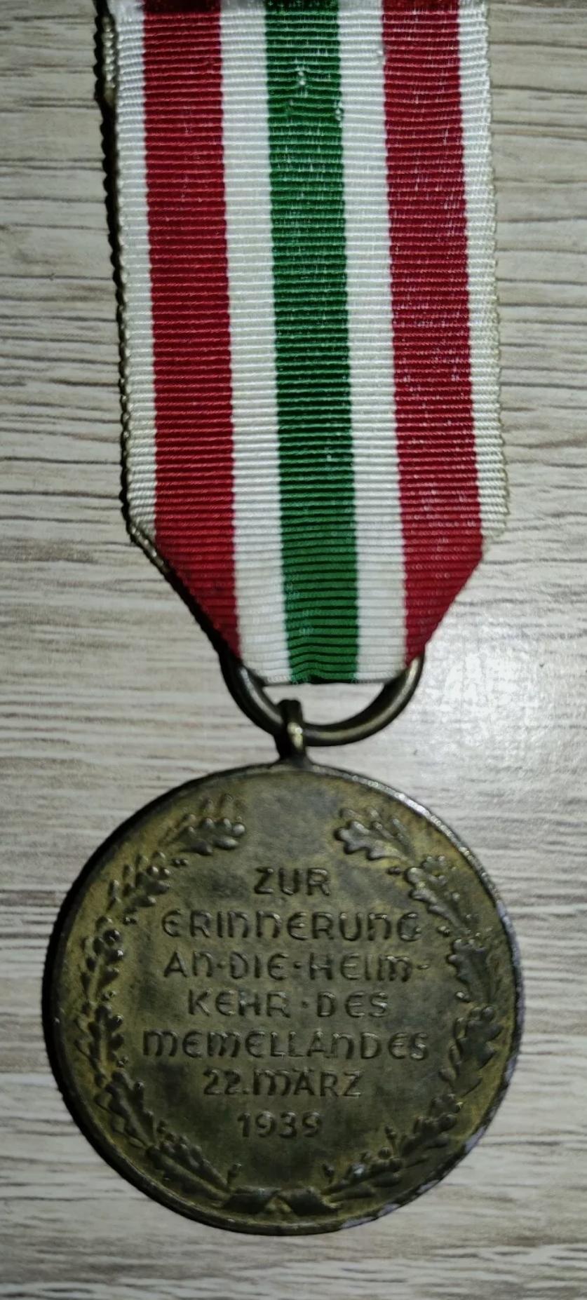 Avis Médaille Annexion Memel Img_2170