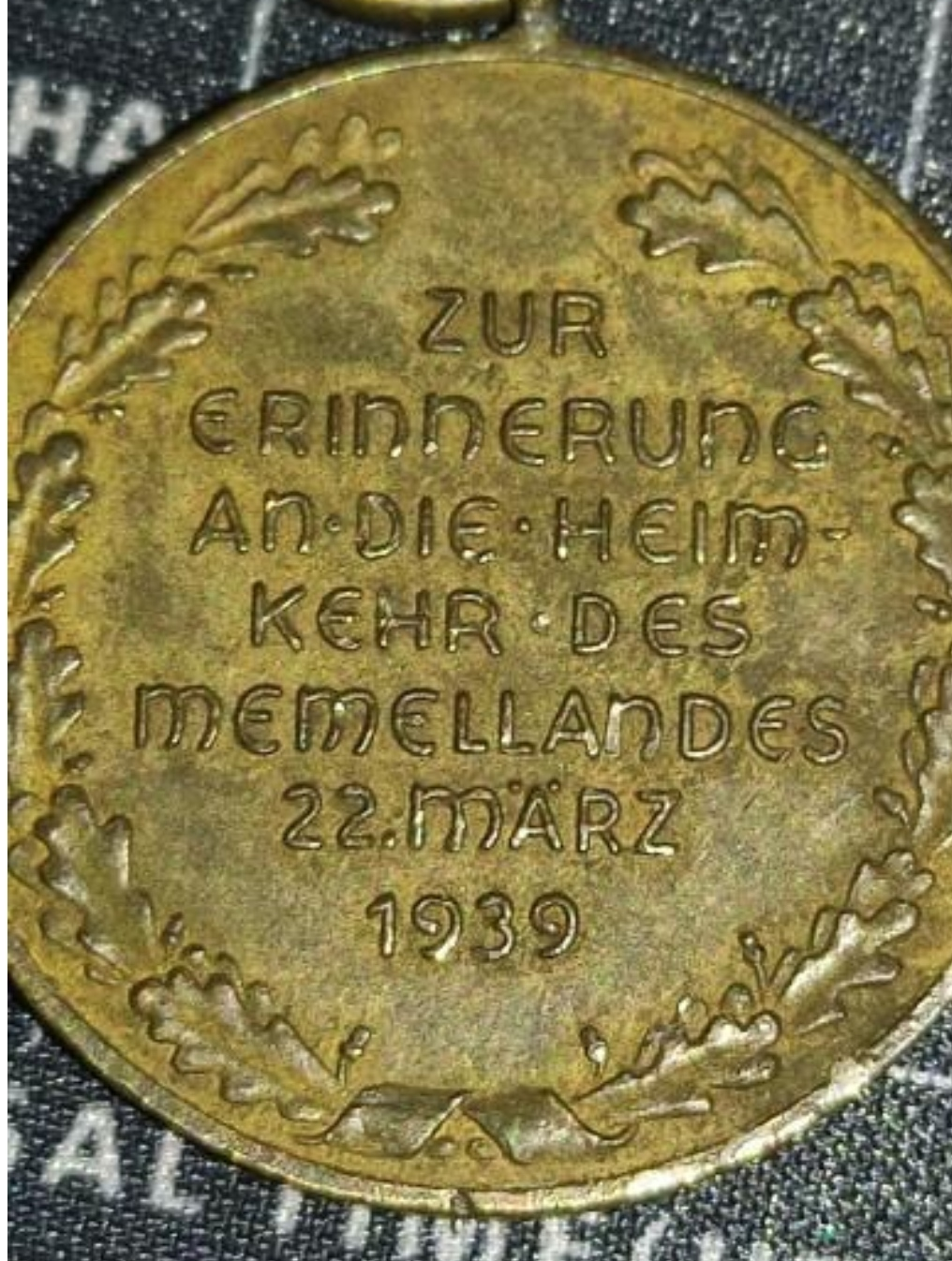 Avis Médaille Annexion Memel Img_2208