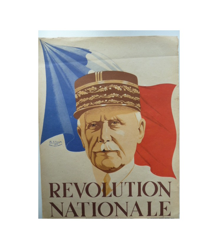 Affiche de propagande vichy - Pétain Marech11