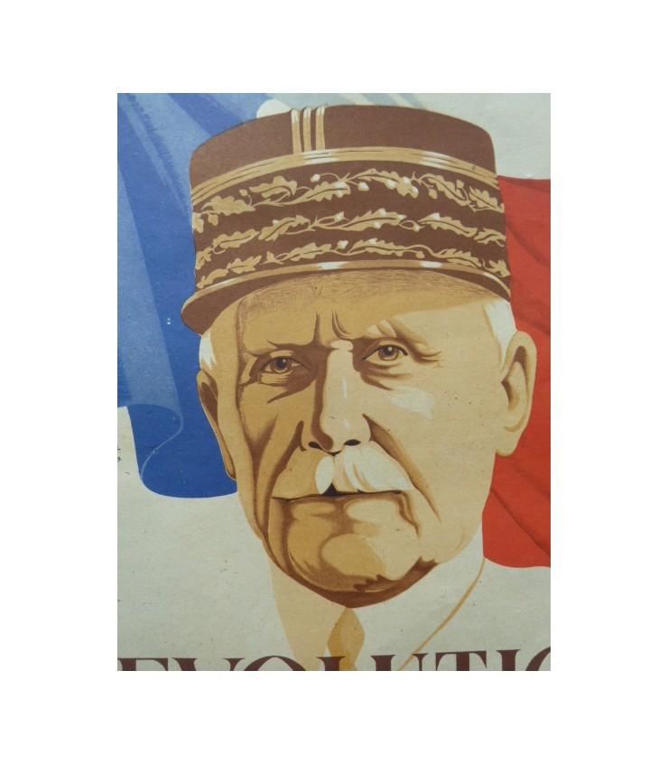 Affiche de propagande vichy - Pétain Marech13