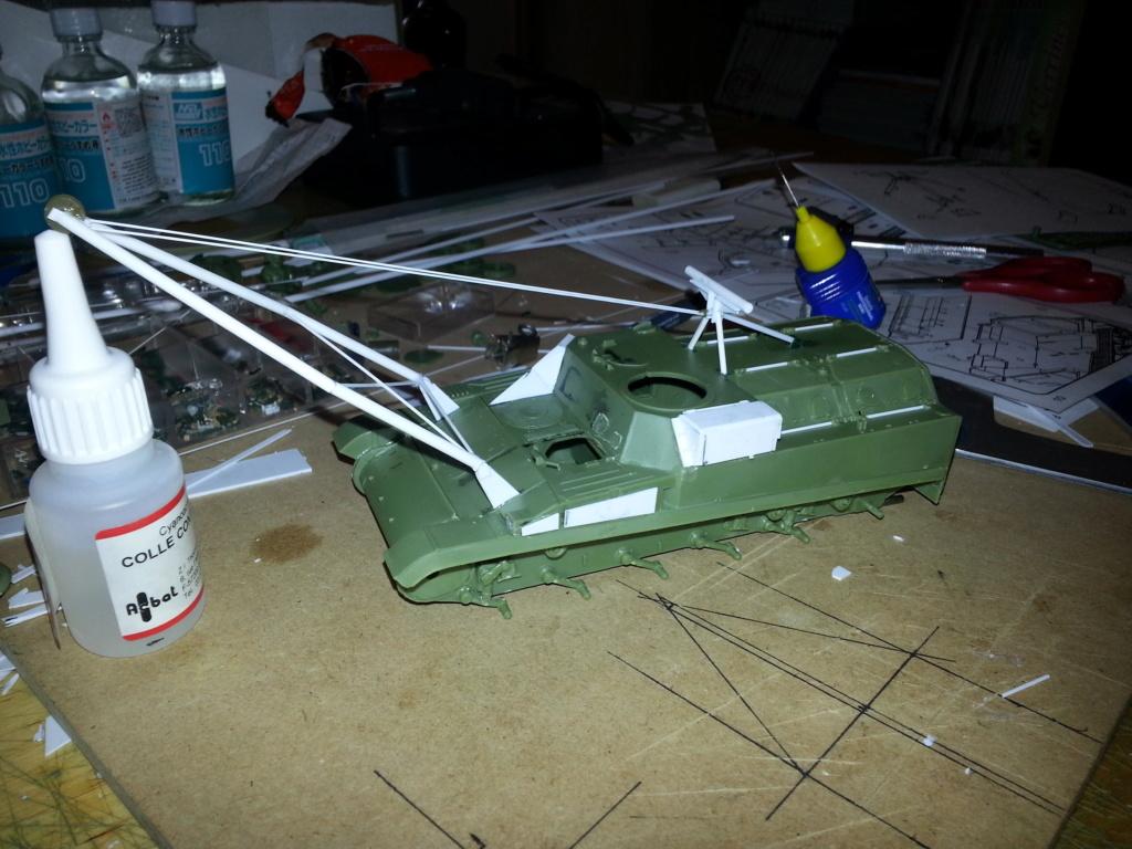 AMX 13 VCG Véhicule de combat du Génie 20121022