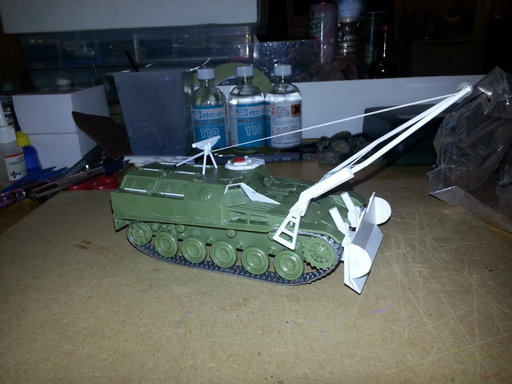 AMX 13 VCG Véhicule de combat du Génie 20121023