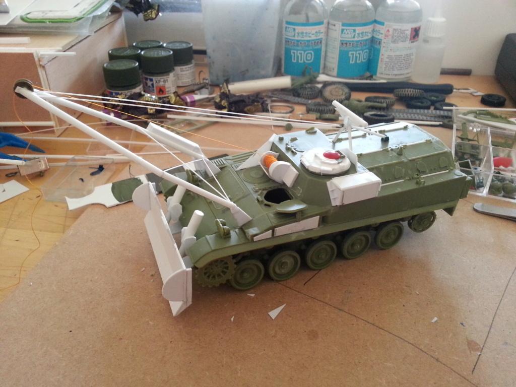 AMX 13 VCG Véhicule de combat du Génie 20121025
