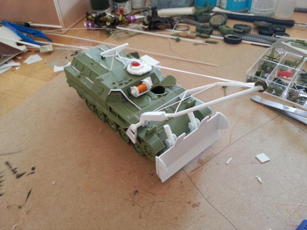 AMX 13 VCG Véhicule de combat du Génie 20121026