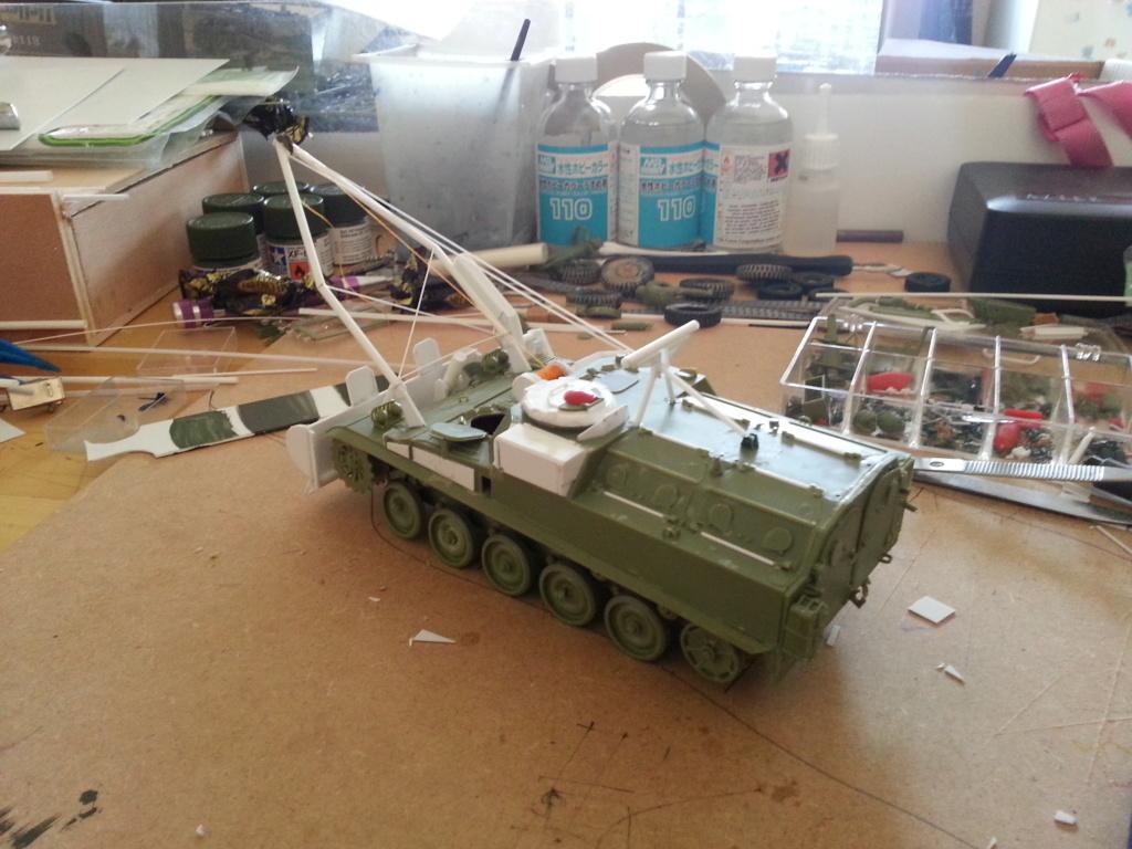 AMX 13 VCG Véhicule de combat du Génie 20121027