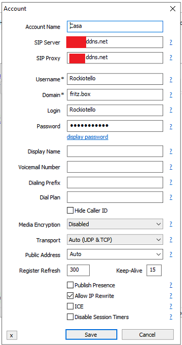 Configurazione VOIP Micros12