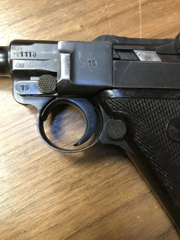 Réflexions sur la production de pistolets Luger P 08, par Mauser, en 1945-1946. - Page 6 85542f10