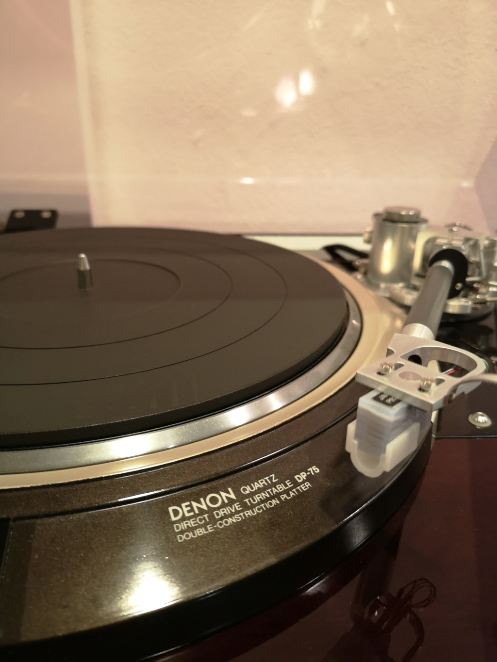 Denon DP-75 Turntable ( Used )  Img_2019