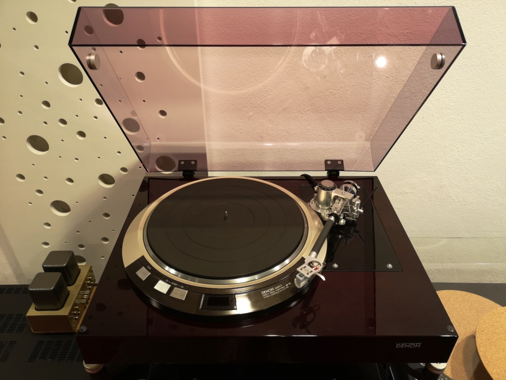 Denon DP-75 Turntable ( Used )  Img_2021