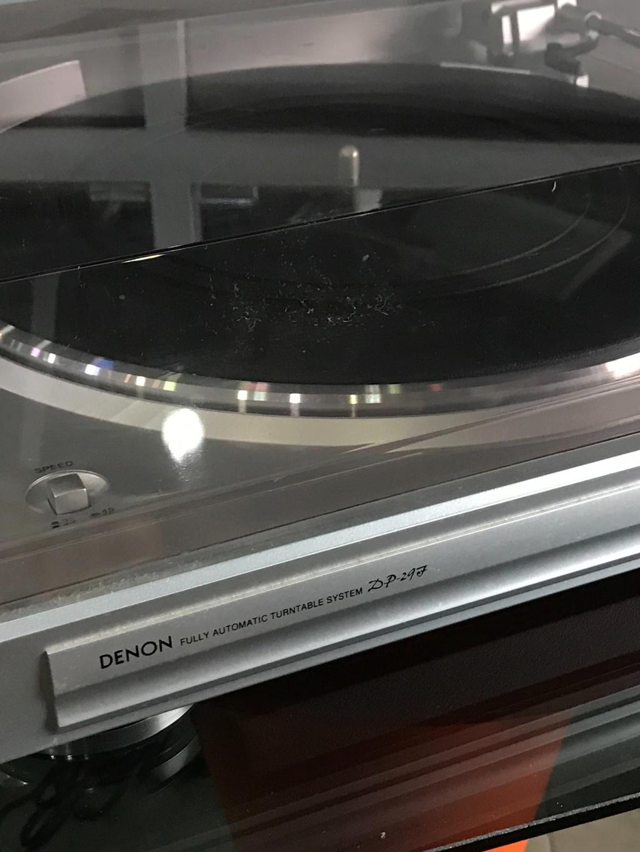 Denon DP-29F turntable ( used ) Img_4320