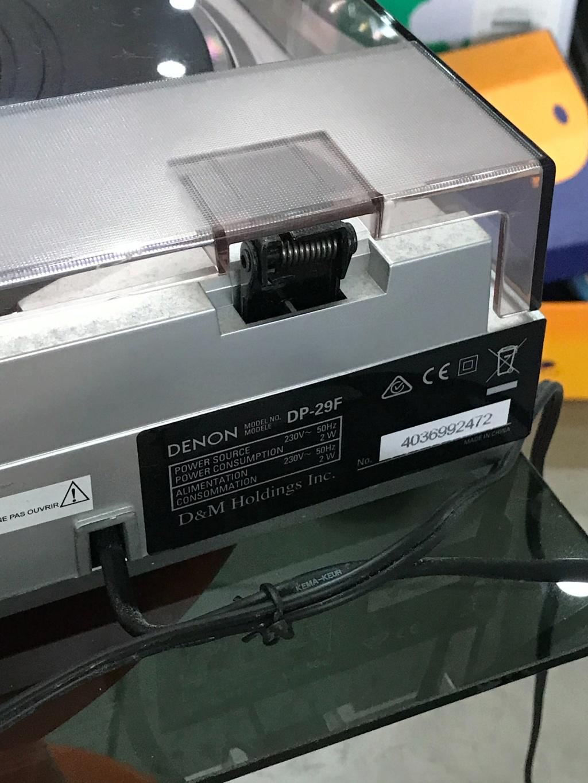 Denon DP-29F turntable ( used ) Img_4322
