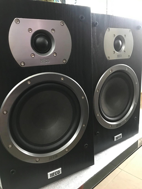 Heco Victa Prime 302 Loudspeakers ( Used )  Img_4327