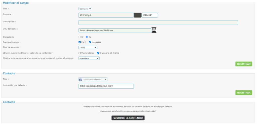 Cargar campos de contenido abierto en caja de mención Campo-11