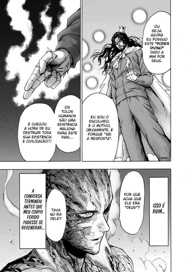 [One Punch Man] R.I.P  99% das teorias sobre o Blast 1010