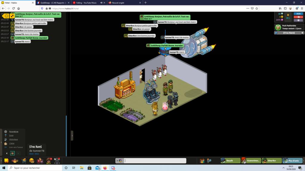 [C.M] Rapports de patrouilles de GoldSheep Captur88