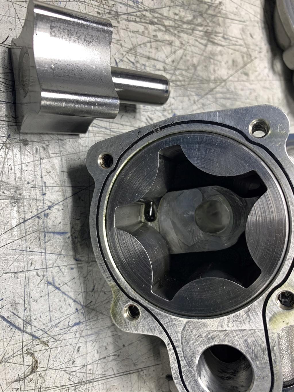 Billet Fabrication Oil Pan and Kaase Pump. SOLD 59f21b10