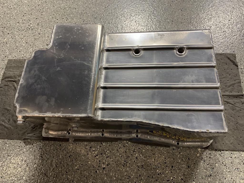 Billet Fabrication Oil Pan and Kaase Pump. SOLD Fc385810