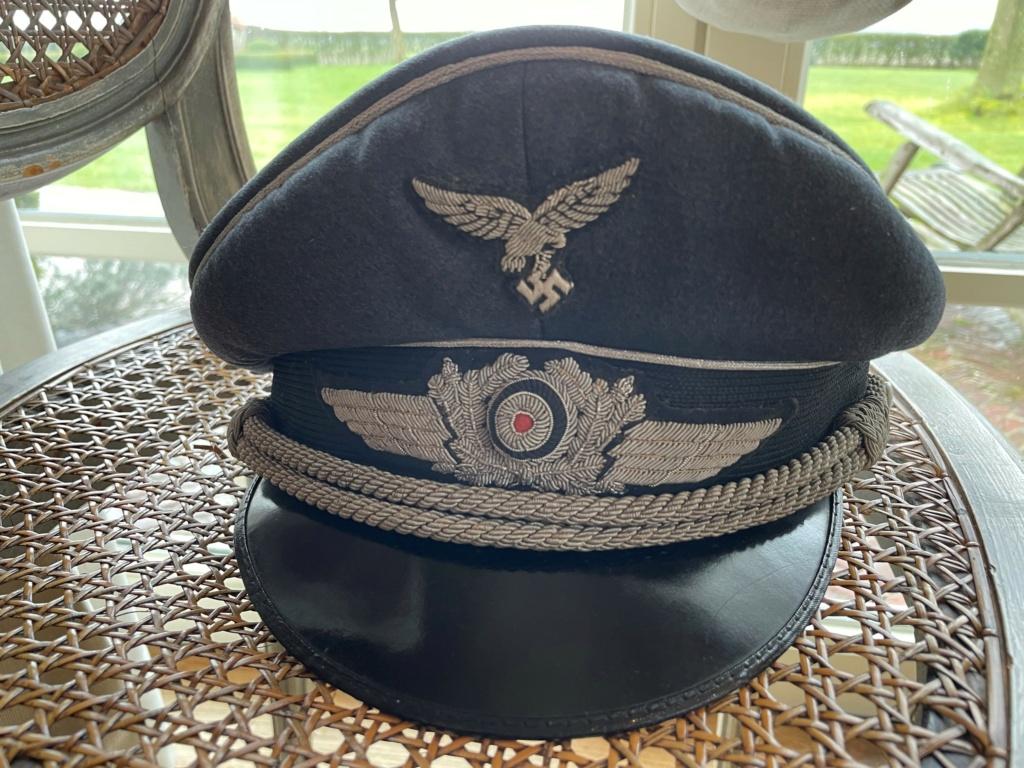 Casquette Officier Luftwaffe 113