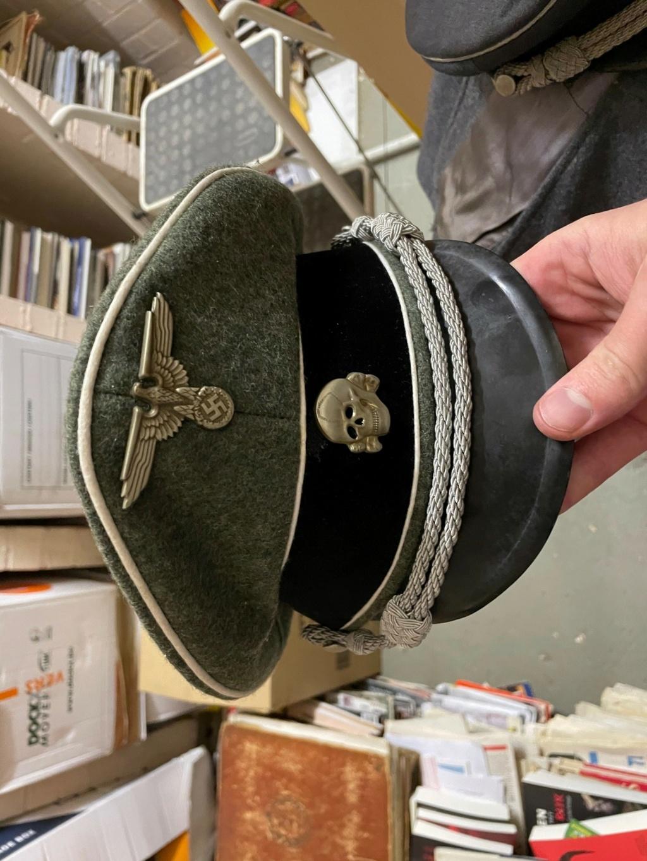 Casquettes SS et Luftwaffe - authentique ? 2312