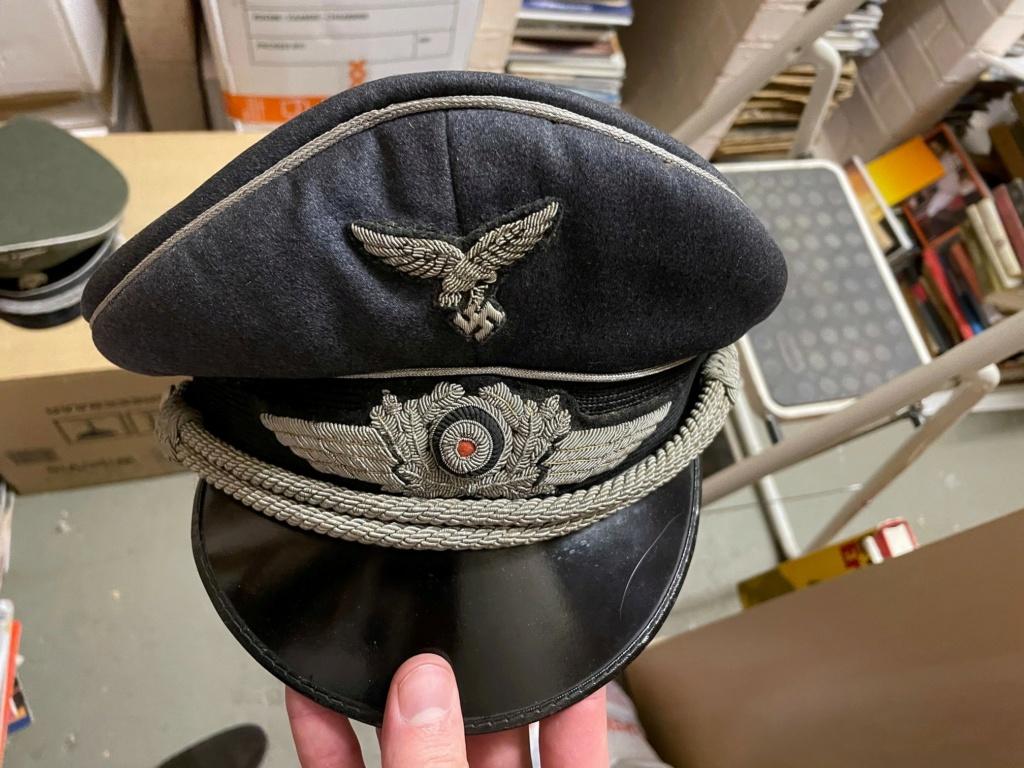 Casquettes SS et Luftwaffe - authentique ? 2412