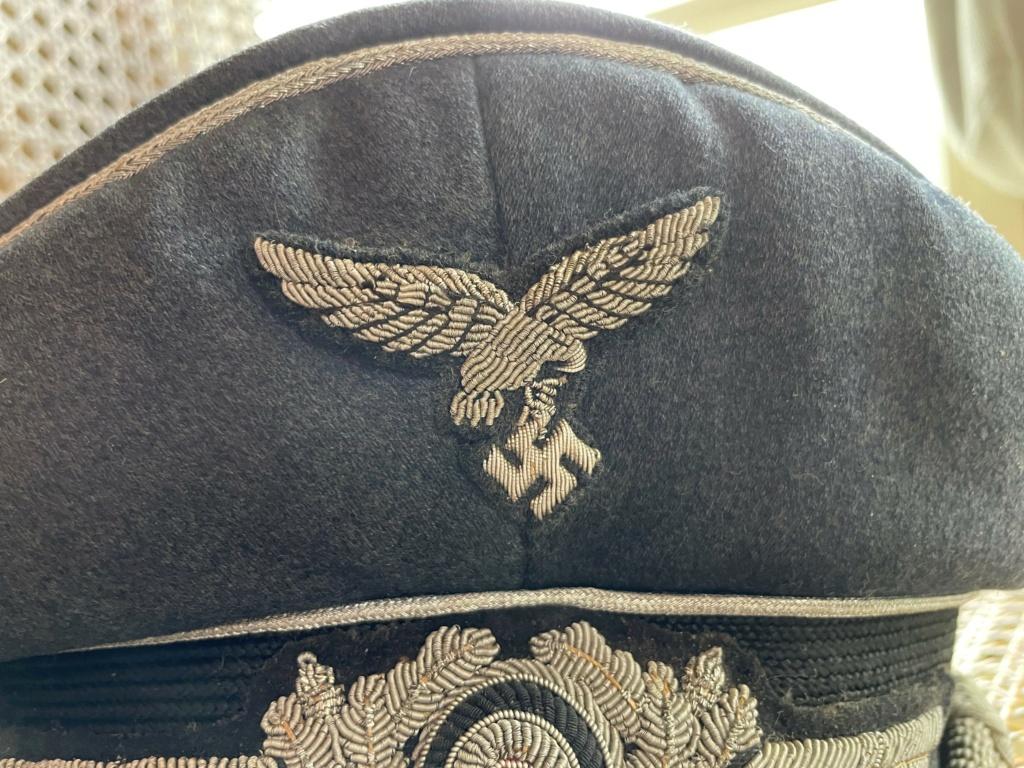 Casquette Officier Luftwaffe 313