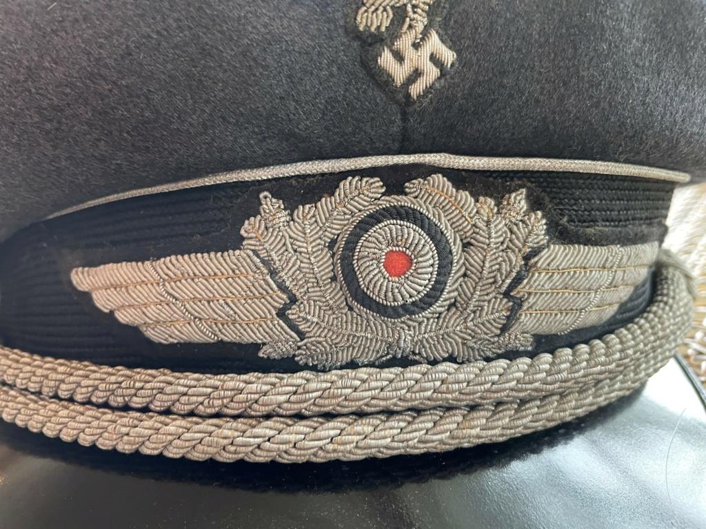 Casquette Officier Luftwaffe 413