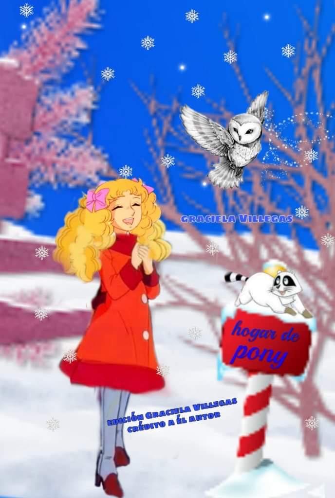 Las divinas místicas... en Sinergia... El colegio y mi amiga la Lechuza. Fanfic rosa Terryfic . Fan art hermoso realizado por Graciela Villegas  1c7db310
