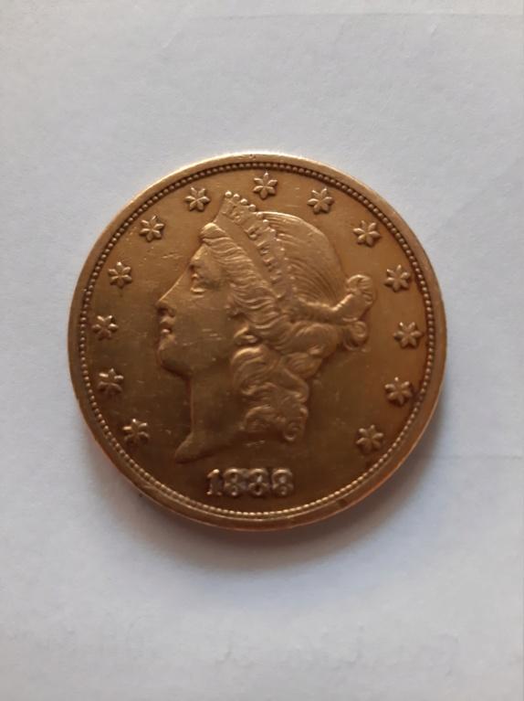 20 dólares 1888 S. Estados Unidos de América. 20210619