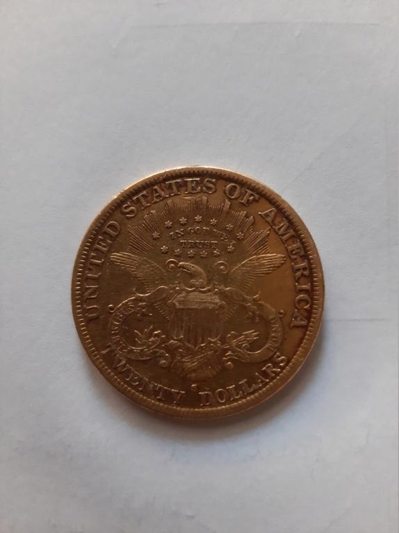 20 dólares 1888 S. Estados Unidos de América. 20210620