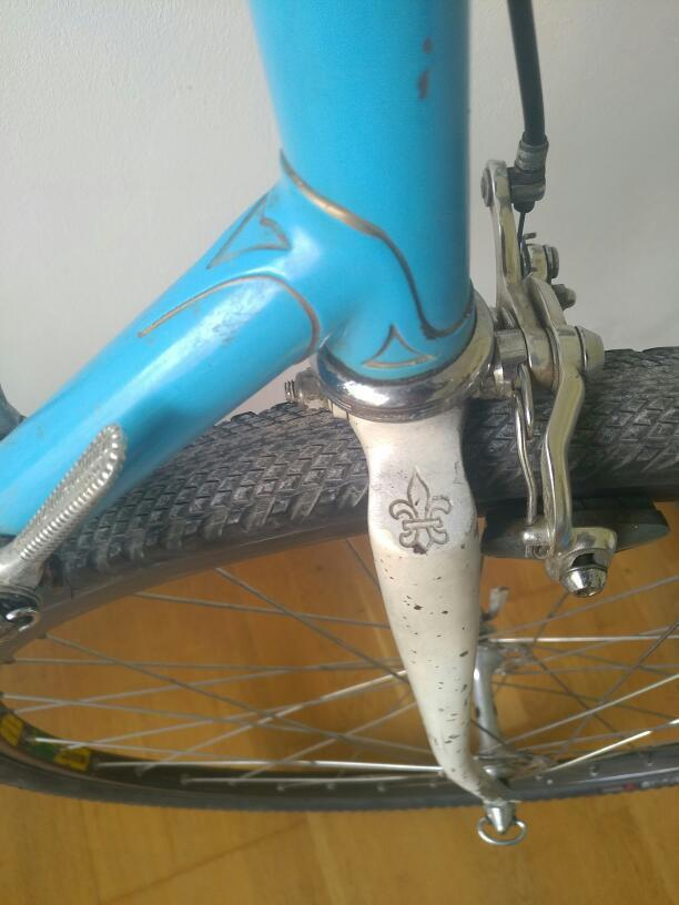 Bernard Carré sur mesure à identifier - Le vélo de Léo 24085710