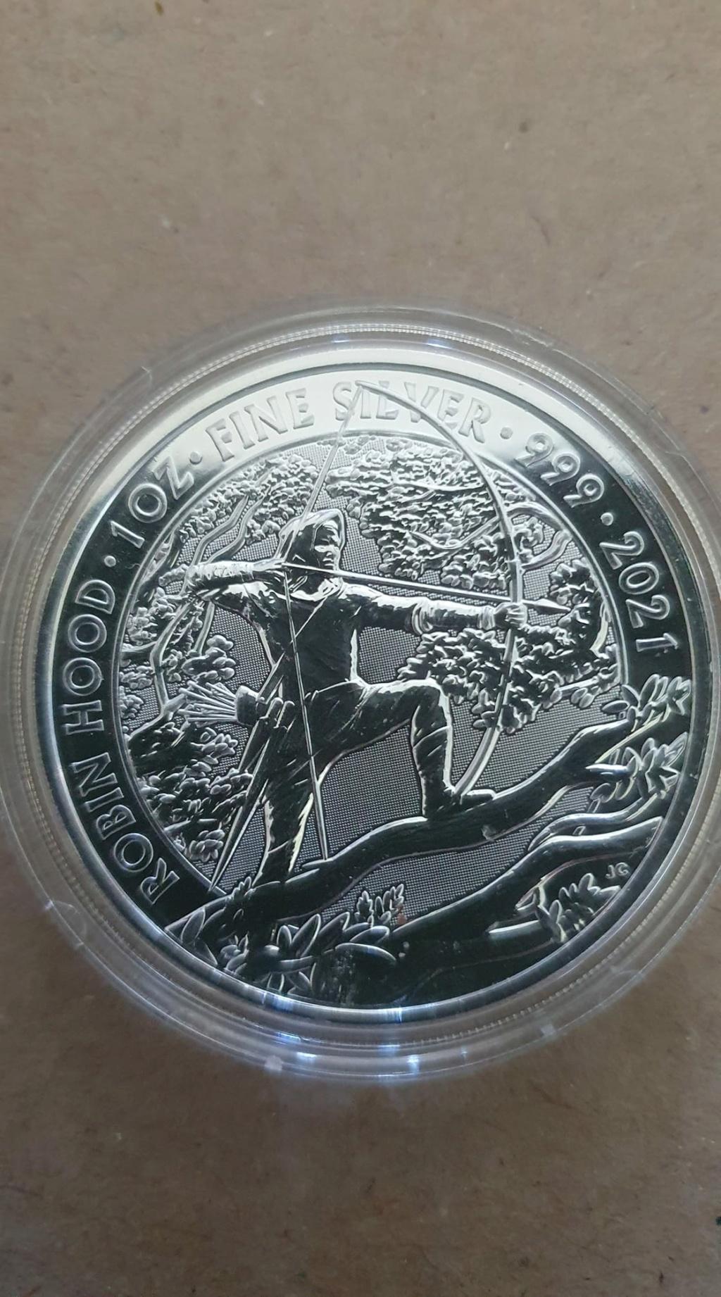 Robin Hood And Maid Marian 1oz Silver Coins  Robin_10