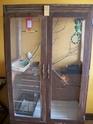 transformation d'un meuble en voiliere (photo) Moi_1411