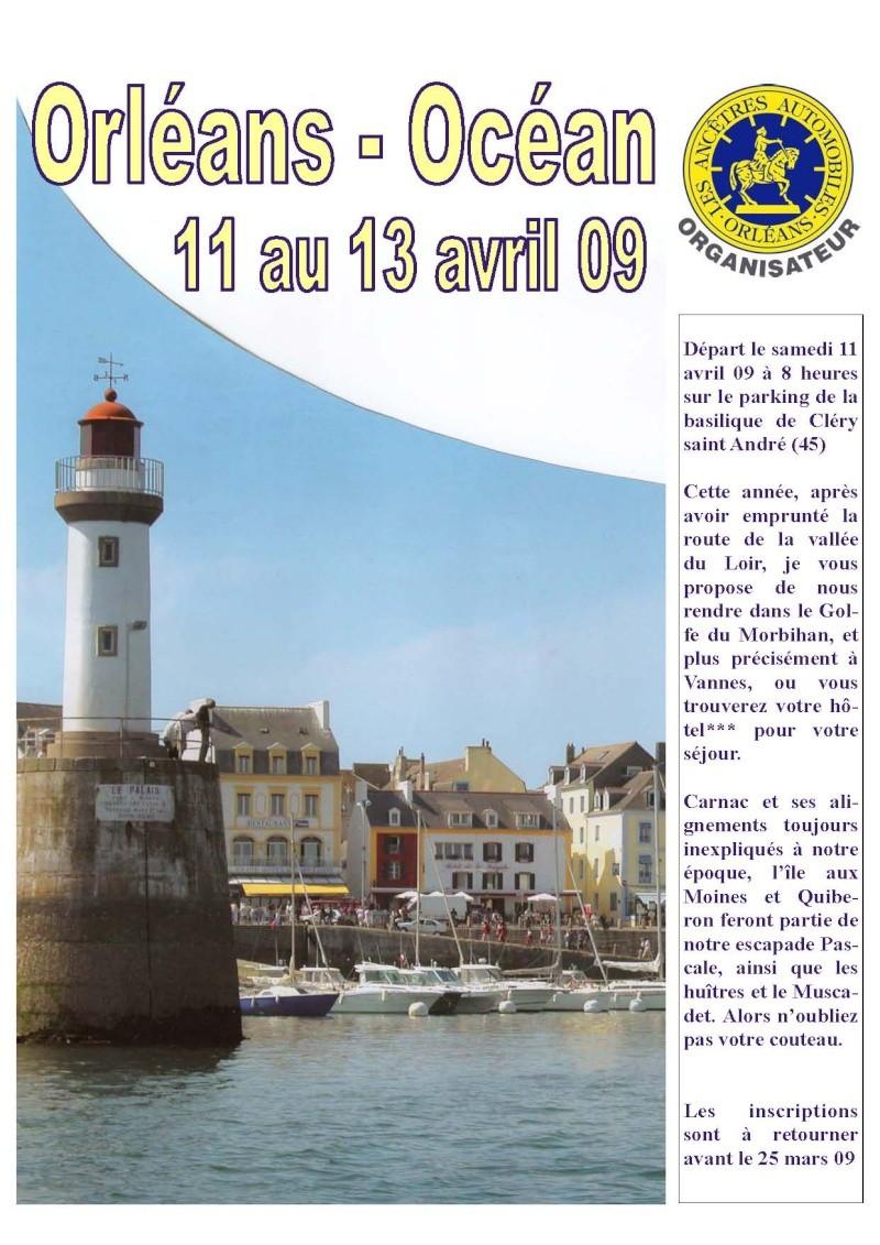 Orléans - Océan du 11 au 13 avril 2009 Affich15