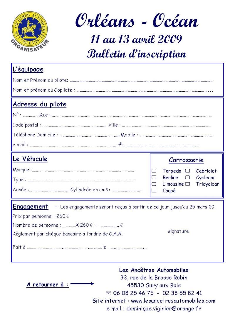 Orléans - Océan du 11 au 13 avril 2009 Inscri11