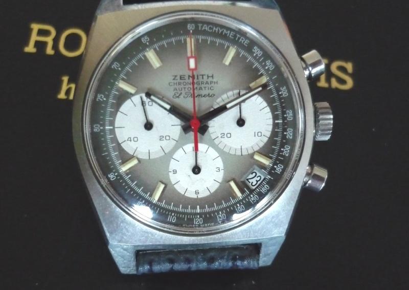 Exclusif : La collection ZENITH EL Primero du 40 ème anniversaire ! P1000421
