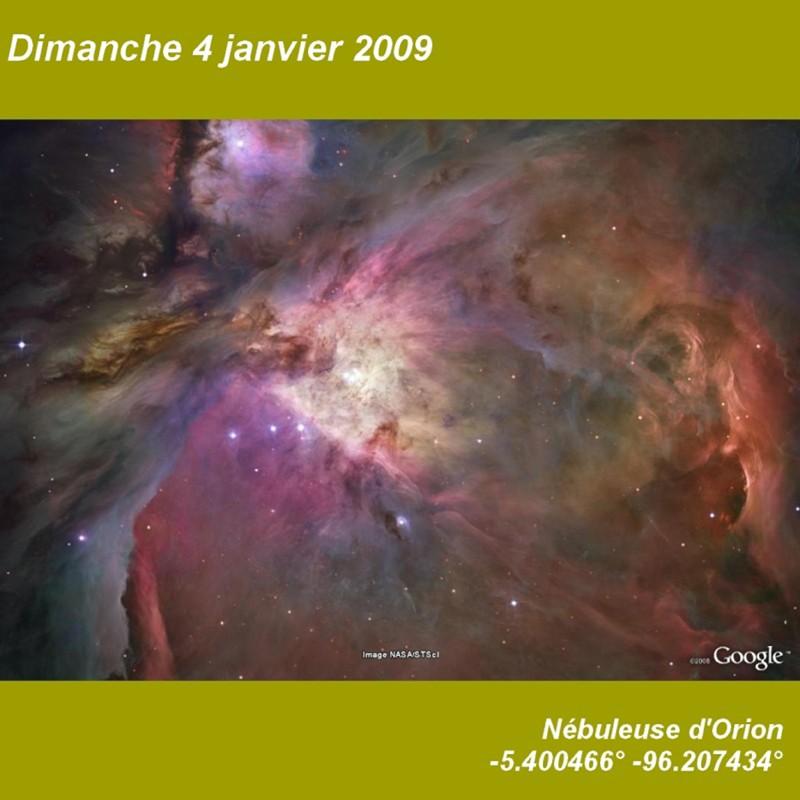 Janvier 2009 (éphéméride) Dimanc10