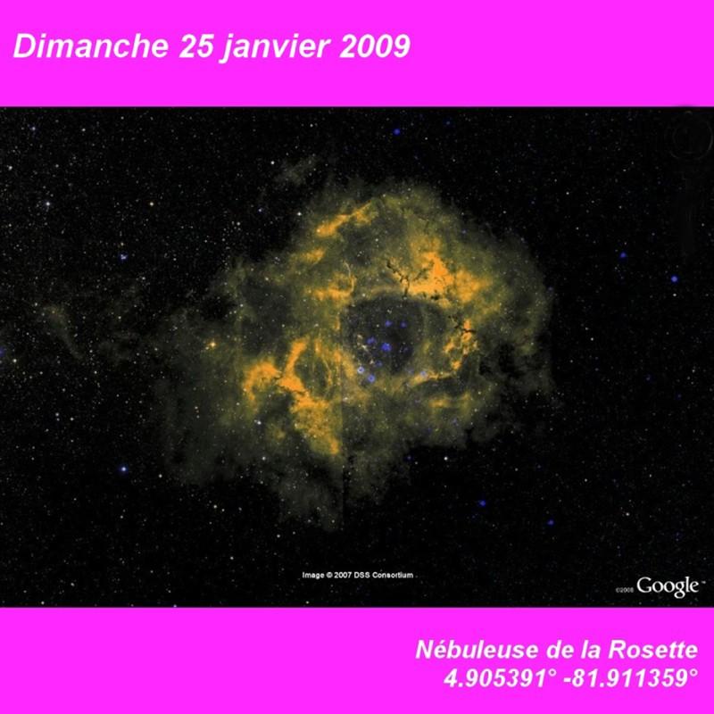 Janvier 2009 (éphéméride) Dimanc14