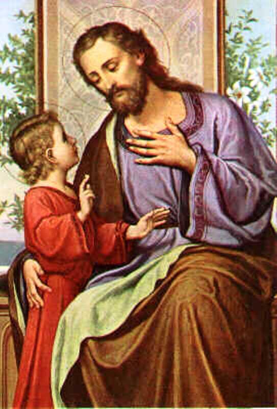 Saint Joseph, Époux de la Vierge Marie ( 19 mars) Stjose10