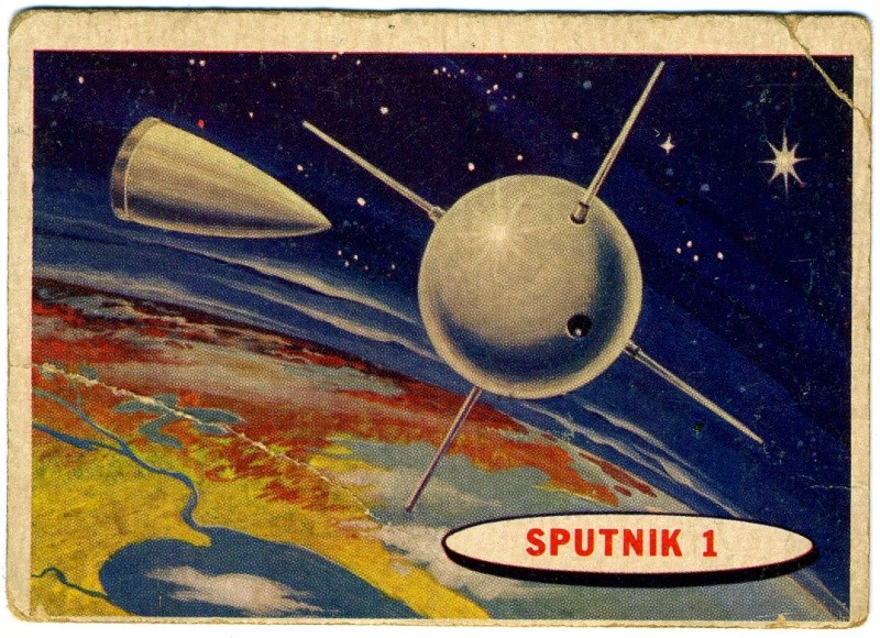 SPACE TRADING CARDS de TOPPS Topp-010