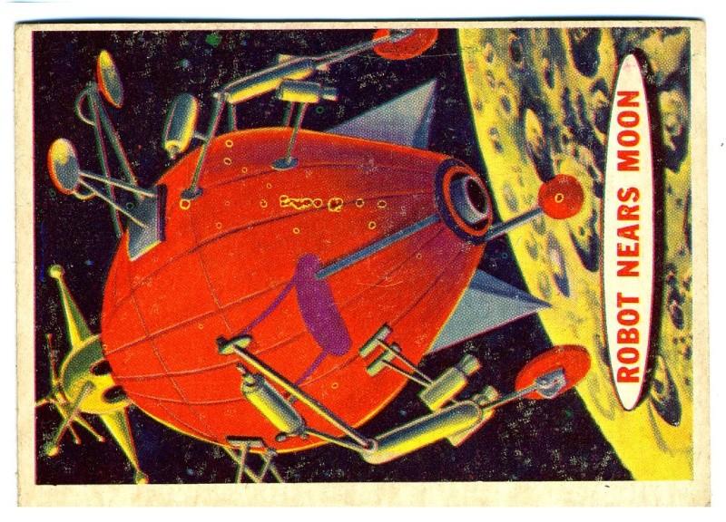 SPACE TRADING CARDS de TOPPS Topp-012